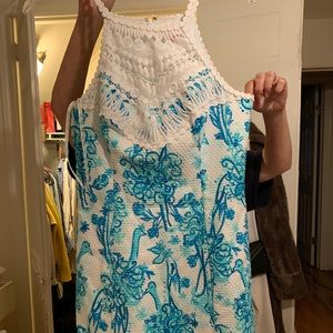Illy Pulitzer white and blue dress open to offers